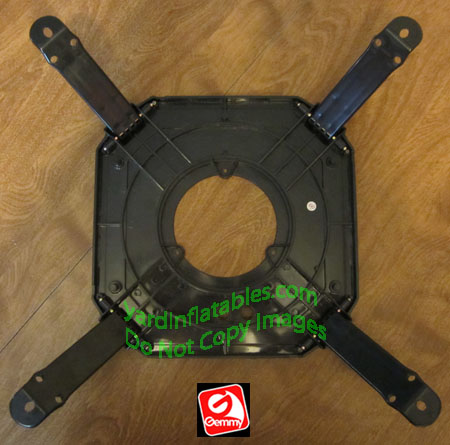Gemmy replacement plastic base with folding legs