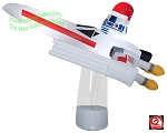 7' Gemmy Airblown Inflatable Star Wars X-Wing Fighter Scene