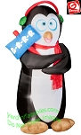 Animated Shivering Penguin