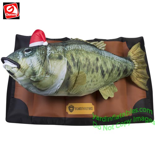 6 12 photorealistic animated big mouth billy bass w music
