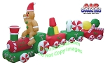 Inflatable Candy Train