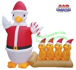 Inflatable Duck & Ducklings