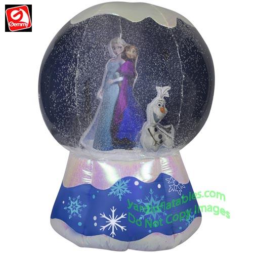 Gemmy Airblown Inflatable 6' Photorealistic Disney's Frozen Snow ...