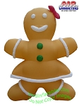 Ginger Bread Woman Inflatable