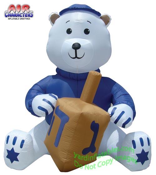 hanukkah bear 11ft hanukkah bear 11ft item id y1014a retail price ...