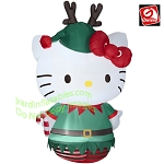 Hello Kitty as an Elf