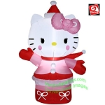 3 1/2' Hello Kitty Wearing Winter Outfit
