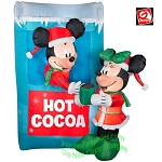 Mickey and Minnie Hot Cocoa Stand