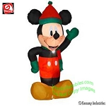 Mickey Wearing Holiday Outfit