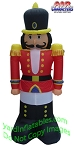 Nutcracker Black Boots Red Jacket