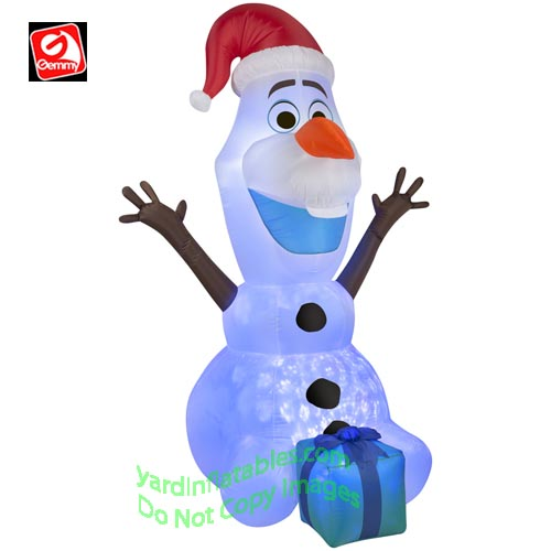 6 kaleidoscope disneys olaf the snowman from frozen holding a present