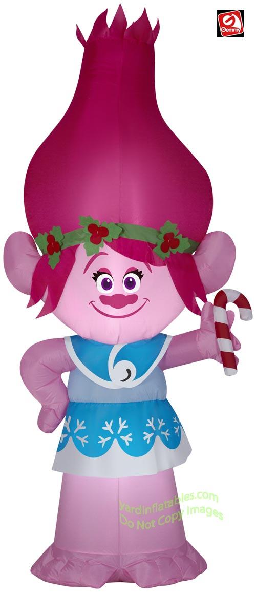 5 Troll POPPY W Candy Cane