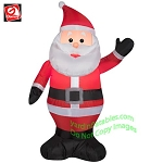 3 1/2' Santa Waving Left Hand