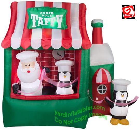 Animated North Pole Taffy Stand