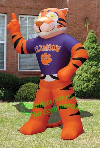 university of kentucky mascot. Clemson Tiger Mascot