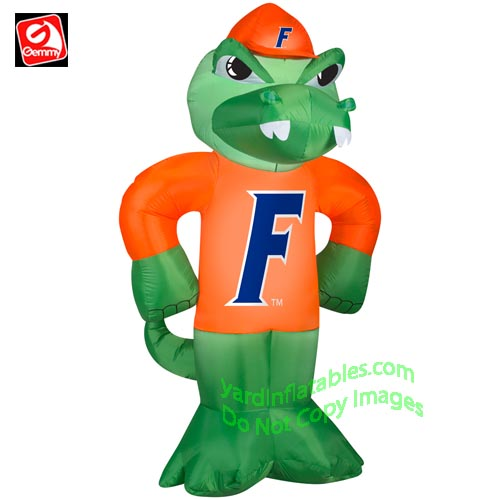 sc 1 st  Yard Inflatables & Gemmy Airblown Inflatable University of Florida Albert Mascot