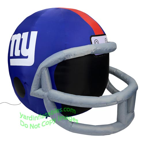 Air Blown Inflatable 4  NFL New York Giants Team Inflatable Helmet 2793862ec