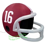 4' NCAA Alabama Crimson Tide Football Inflatable Helmet