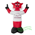 7' NCAA Inflatable Arkansas Razorbacks Mascot