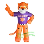 7' NCAA Inflatable Clemson Tiger Mascot