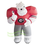 7' NCAA Inflatable Georgia Hairy Mascot
