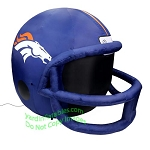 4' NFL Denver Broncos Football Inflatable Helmet