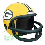 4' NFL Green Bay Packers Football Inflatable Helmet