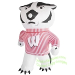7' NCAA Inflatable Wisconsin Bucky the Badger Mascot