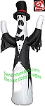 Ghost in Tux and Bow Tie