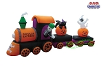 15' Halloween Train DELUXE