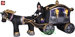 Photorealistic Grim Reaper Carriage 13'