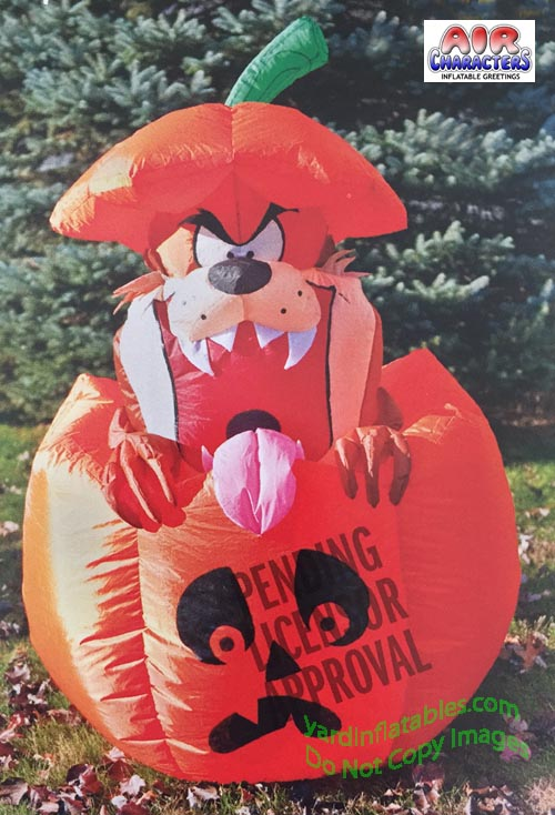 5u0027 Looney Tunes Taz In Jack O Lantern