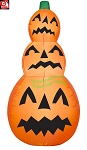 4' Inflatable Pumpkin Stack