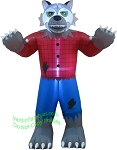 6' Air Blown Inflatable WereWolf