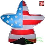 3' Airblown Inflatable Patriotic American Flag Star