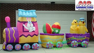 15' Easter Bunny DELUXE Train