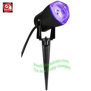 Outdoor L.E.D Black Light Spot Light w/ Switch *Strobing*