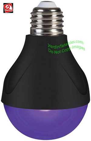 Steady Glow Black Light Bulb