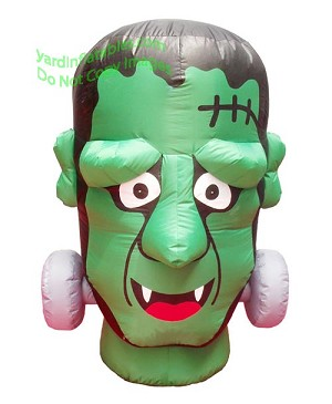 4' Frankenstein Monster Head
