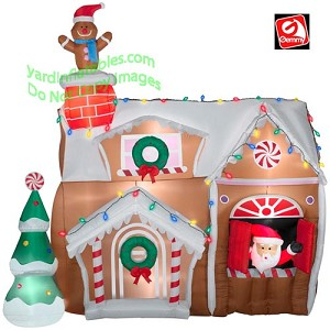 Animated Gingerbread House
