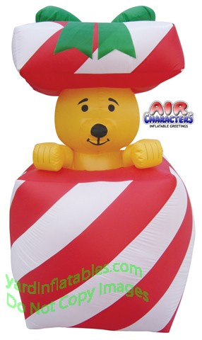 Inflatable Bear In Present