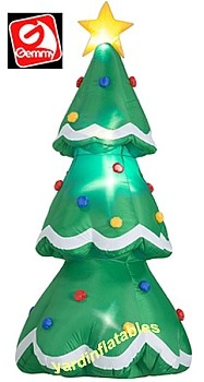 7' Airblown Inflatable Christmas Tree