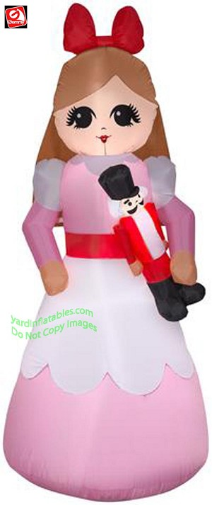 7' Christmas Nutcracker Clara