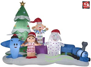 9 12 island of misfit toys scene - Misfit Toys Outdoor Christmas Decorations