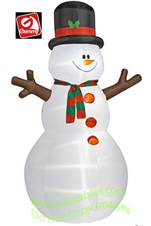 Snowman Giant w/ Stick Arms