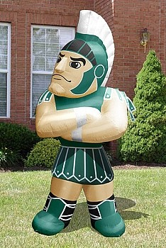 Michigan State Sparty Mascot