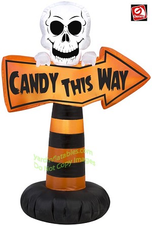 "3 1/2' ""Candy This Way"" Sign"