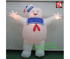 9' Giant Ghostbusters Stay Puft