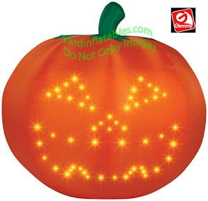Light Show LED Singing Thriller Pumpkin