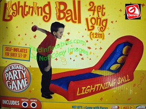 4' Lightning Ball Toss Game